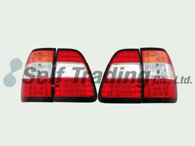 LC100 LED Tail Lamps Orange 4P