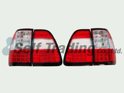 LC100 LED Tail Lamps Clear 4P