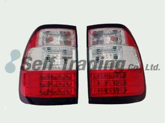 LC100 LED Tail Lamps Clear 2P