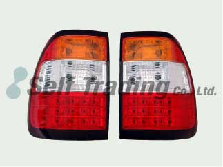 LC100 LED Tail Lamps Orange 2P