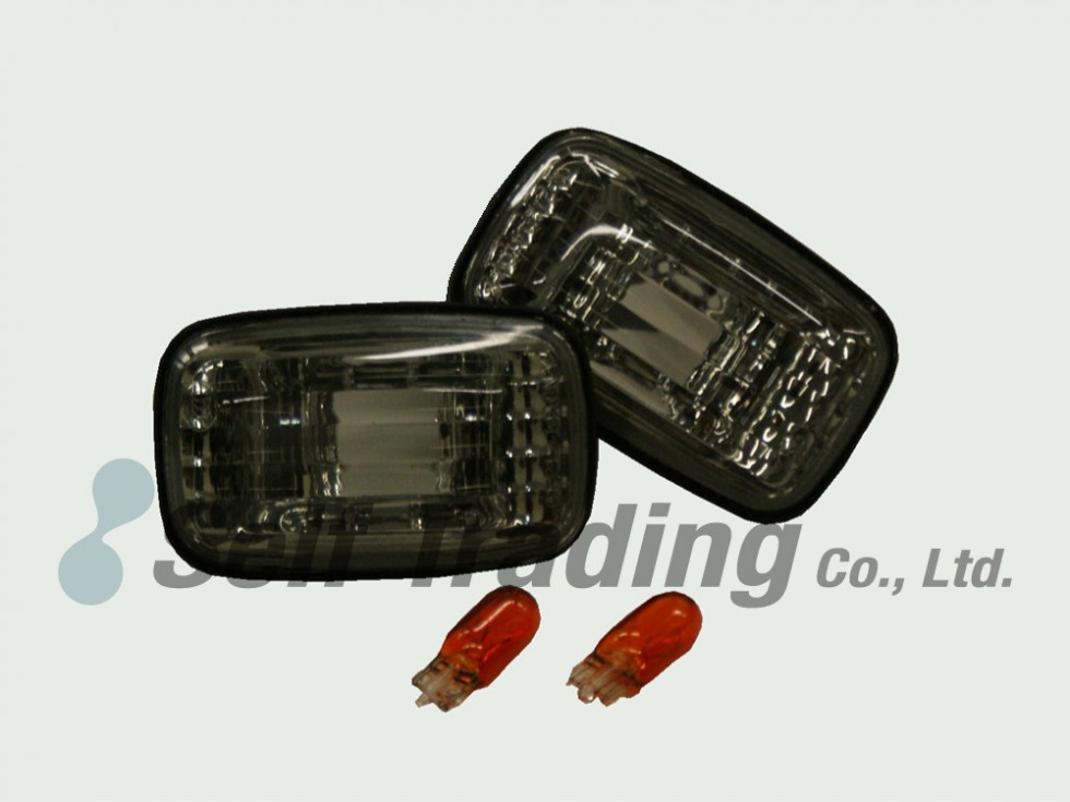 LC100 Crystal Side Turn Signal Lights Smoky Type
