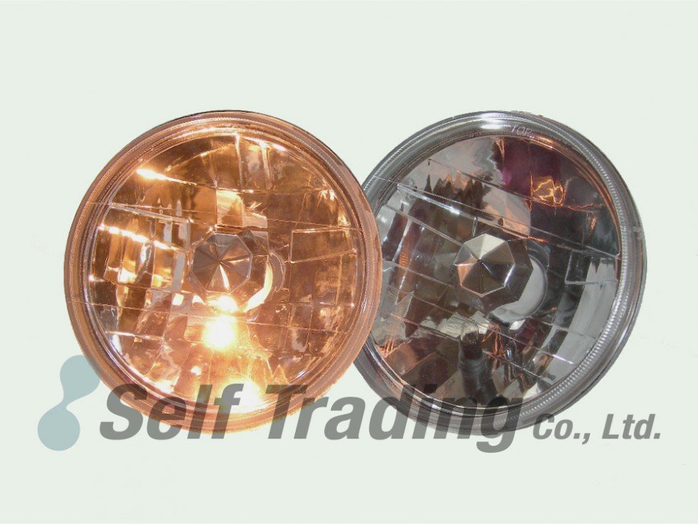 2 Round Head Lamps