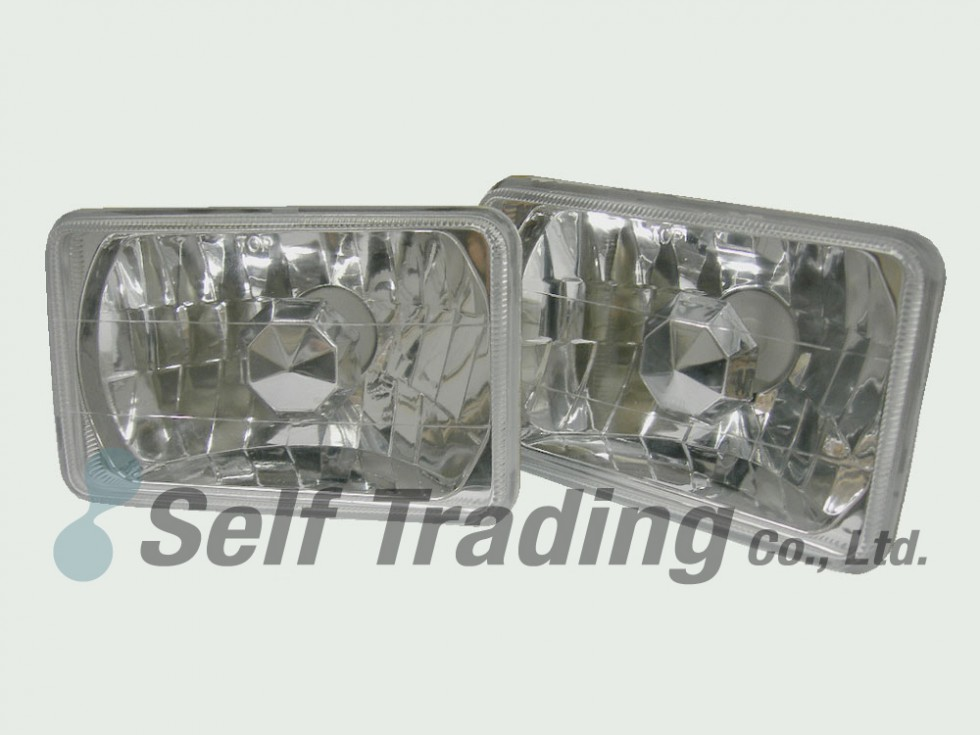 LC60 4 Square Head Lamps