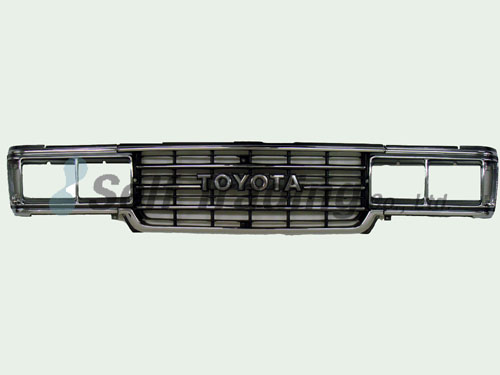 LC60 Square Front Grill  and Bezel