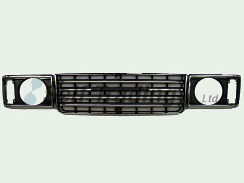 LC60Round Front Grill  and Bezel