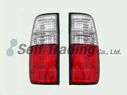 LC80 Crystal Tail Lights Normal