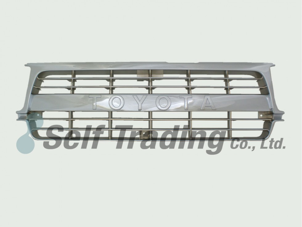 LC80 All chrome grill 89/10-94/12