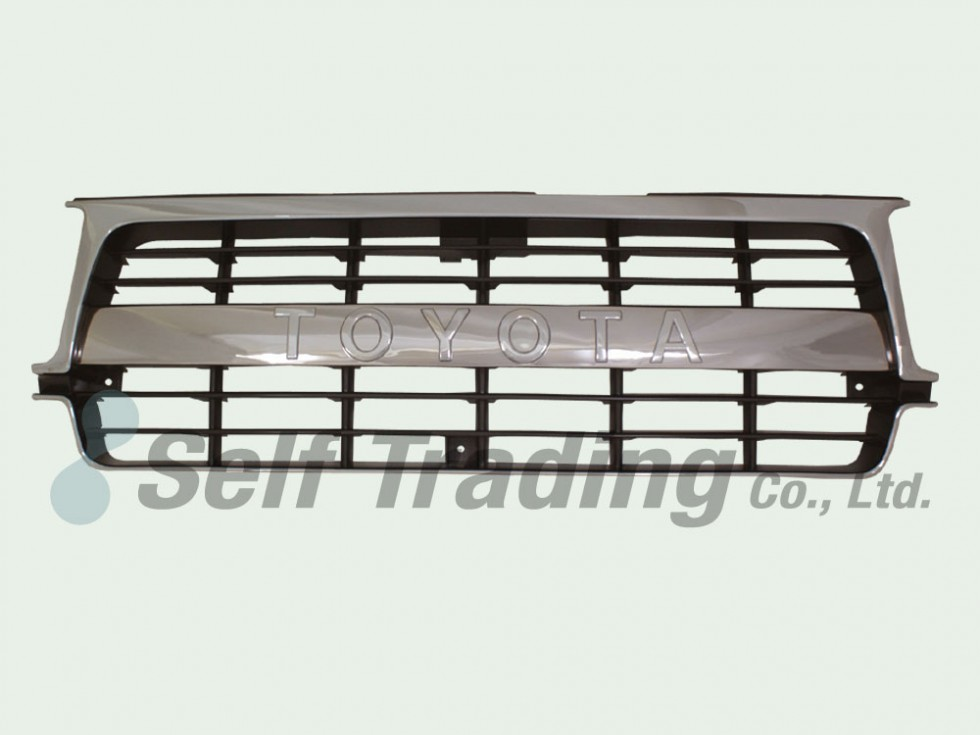 LC80 Louver chrome grill 89/10-94/12