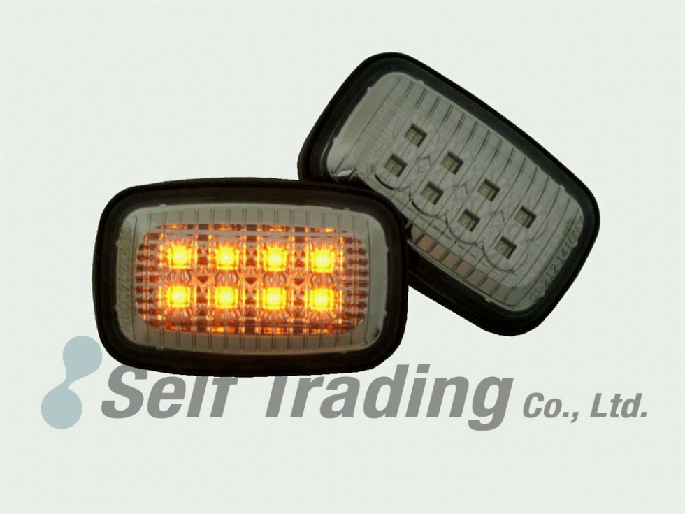 LC100 LED Side Turn Signal Lights Smoky Type